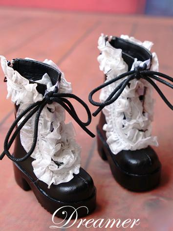 BJD 1/4 Shoes Sweet Girl Bl...