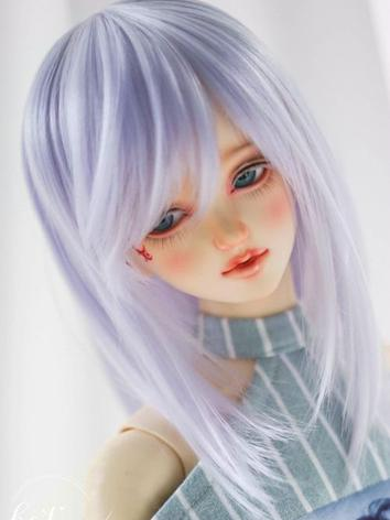 BJD Wig Boy/Girl Light Purp...