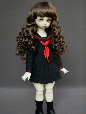 Girl Black Dress Sailor Sui...