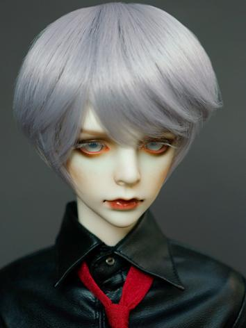 1/3 Wig Boy Gray Color Shor...