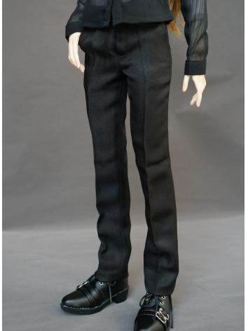 BJD Boy Clothes Black Trousers Pants for MSD/SD/70cm Ball Jointed Doll