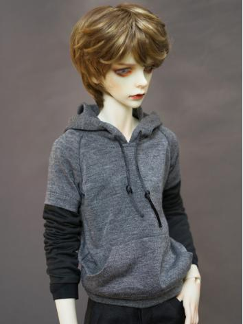 BJD Clothes Boy Black and G...