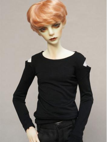 BJD Clothes Boy Black T-shirt for 70CM/68CM/SD Ball-jointed Doll