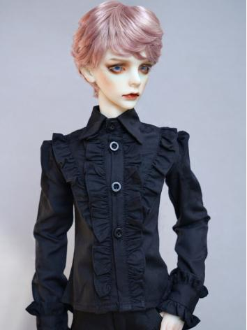 BJD Black Shirt Coat for Bo...