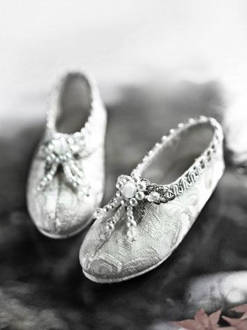 Bjd Shoes 1/3 Antique silver shoes SH31026 for SD Size Ball-jointed Doll