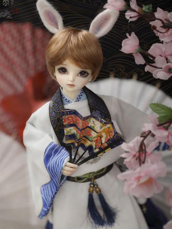 Bjd Clothes 1/4 Kid kimono fullset- MI CL4161015 for MSD Ball-jointed Doll