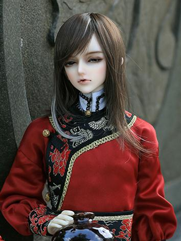 BJD 1/3 male ancient hair W...