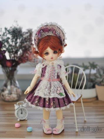 BJD Clothes Girl Vintage Dr...