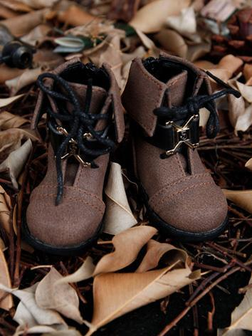 Bjd Boy Brown Martin Boots ...