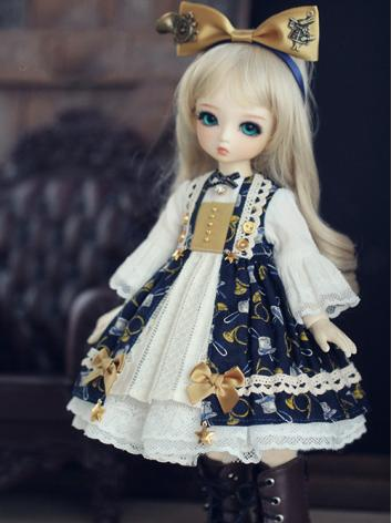 BJD Clothes March Rabbit Waltz Girl  Dress for YOSD Ball-jointed Doll