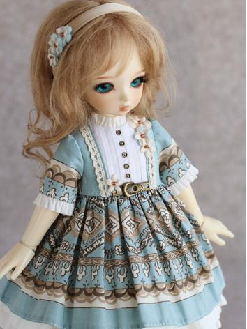 BJD Clothes Freesia Girl Dress for YOSD Ball-jointed Doll