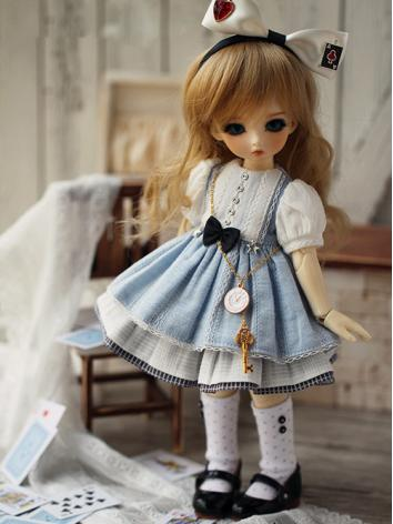 BJD Clothes Dream travel Girl Dress for YOSD Ball-jointed Doll
