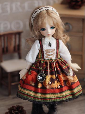 BJD Clothes Titmouse Girl Dress for YOSD Ball-jointed Doll