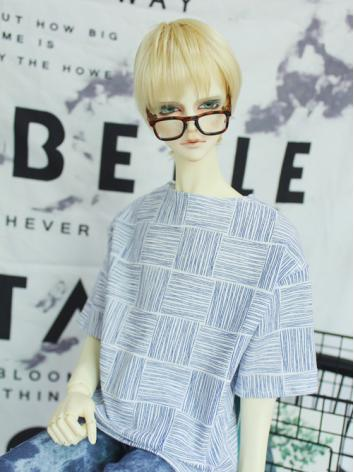 BJD Clothes Boy Stripes T-s...