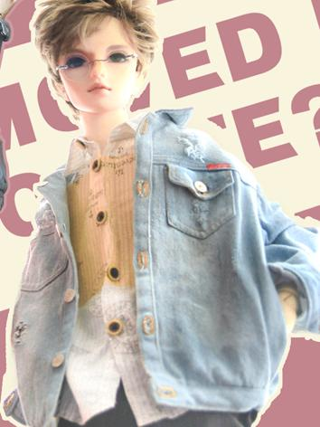 BJD Clothes Boy Light Blue ...