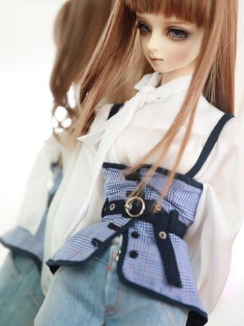 BJD Clothes Girl Shirt Bell...