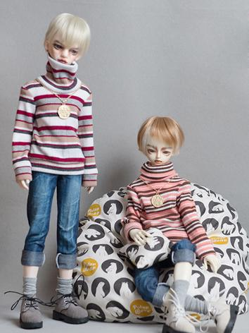 BJD Clothes Boy 1/4 size Boy Sweater Jeans Set for MSD Ball-jointed Doll