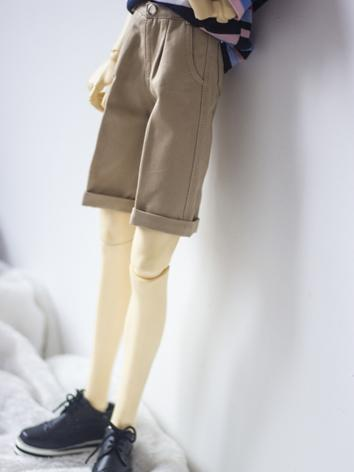 1/3 1/4 70cm Clothes Green/Khaki/Gray Short Trousers A269 for MSD/SD/70cm Size Ball-jointed Doll