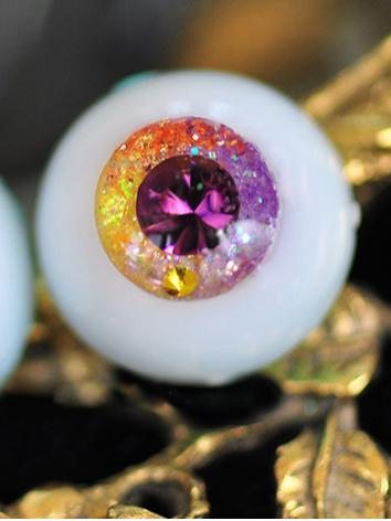 BJD EYES 14MM/16MM/18MM Purple Sparkle Eyeballs Ball Jointed Doll