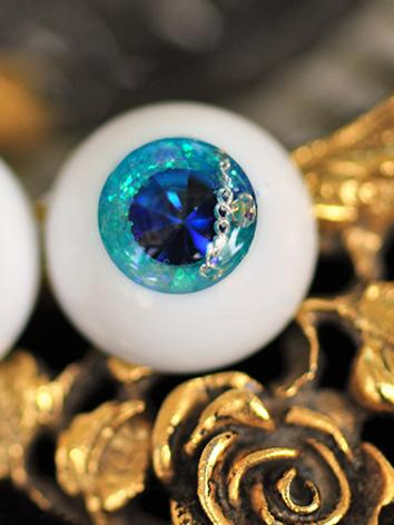 BJD EYES 14MM/16MM/18MM Blue Sparkle Eyeballs Ball Jointed Doll