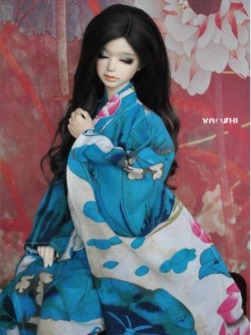 BJD Clothes Boy/Girl Blue K...