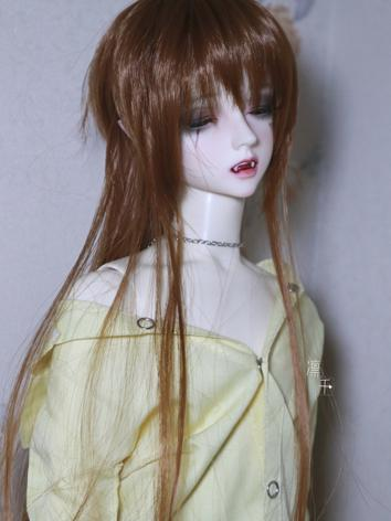 BJD Wig Girl/Boy Brown Long...