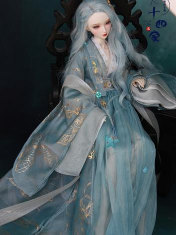 BJD Clothes Girl Chinese Bl...