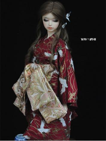 BJD Clothes Boy/Girl Red Cr...