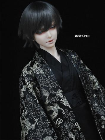 BJD Clothes Boy Kimono/Yukata for 75cm/70cm/SD/MSD Ball-jointed Doll