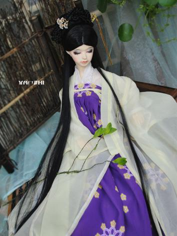 BJD Clothes Girl Tang Style 【JU】Ancient Dress for MSD/SD/SD16 Ball-jointed Doll