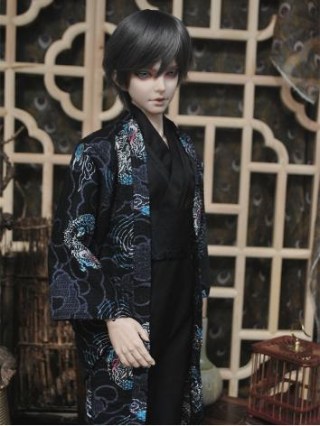 BJD Clothes Boy  Ancient Kimono/Yukuta for 75cm/70cm/SD/MSD/ YOSD Ball-jointed Doll