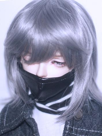 BJD Wig Boy Black/Green/Lig...