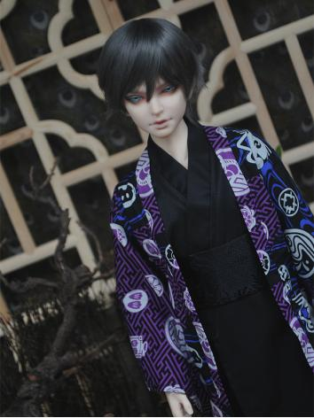 BJD Clothes Boy Kimono/Yukata Set for 75cm/70cm/SD/MSD/YOSD Ball-jointed Doll