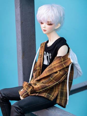 BJD Clothes Boy Gird Coat f...