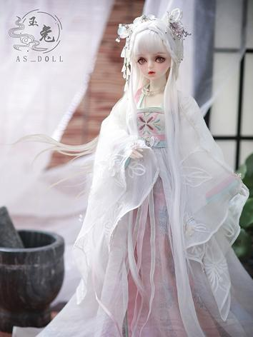 Bjd Clothes 1/4 ANCIENT CHINESE FULLSET - YuLing CL4180731 for MSD Ball-jointed Doll