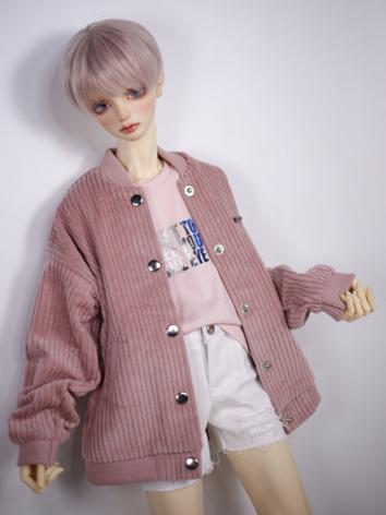 1/3 1/4 70cm Clothes White/Pink Jacket Coat A270 for MSD/SD/70cm Size Ball-jointed Doll