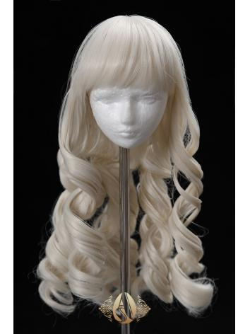 BJD 1/3 Wig Milk gold Curly...