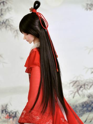 BJD 1/3 Wig Black Ancient S...