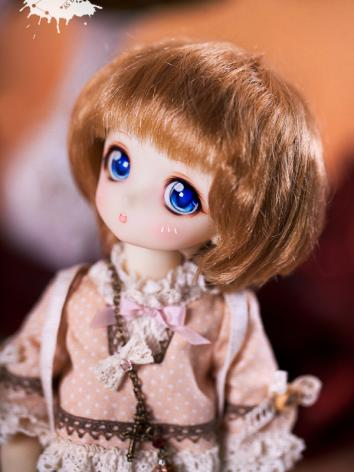 BJD 1/6 Golden Brown Short ...