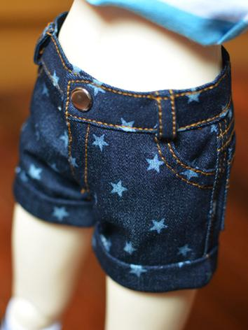 BJD Clothes Pants Short Trousers A079 for SD/70cm/MSD Size Ball-jointed Doll