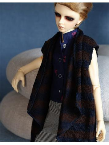 BJD Clothes Boy Striped Woo...