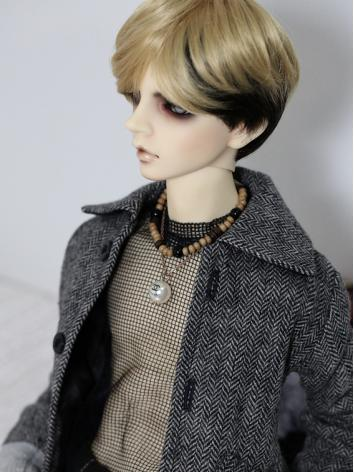 BJD Clothes Textured Wool J...