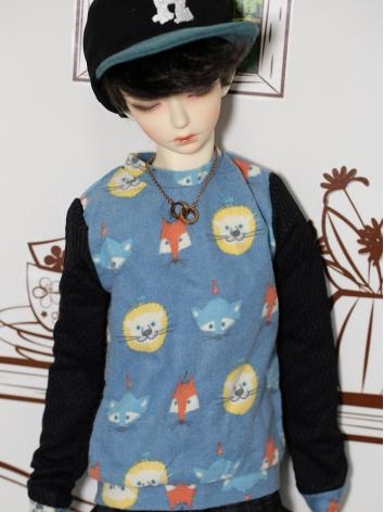 BJD Clothes Cartoon Colorbl...