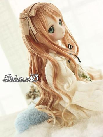 BJD Wig Girl Gold/Purple Ha...