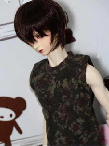 BJD Clothes Boy Printing Ve...