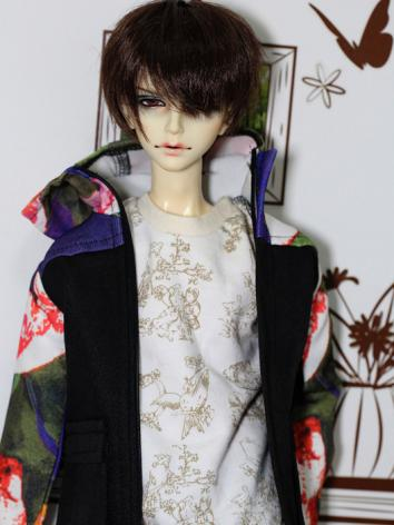 BJD Clothes Boy Casual Coat...