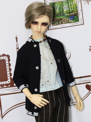 BJD Clothes Boy Black Star ...