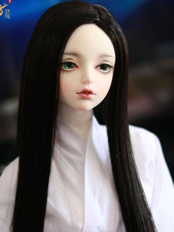 BJD Wig Girl/Boy Black/Gold...