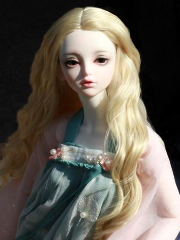 BJD Wig Boy/Girl Gold/Pink ...
