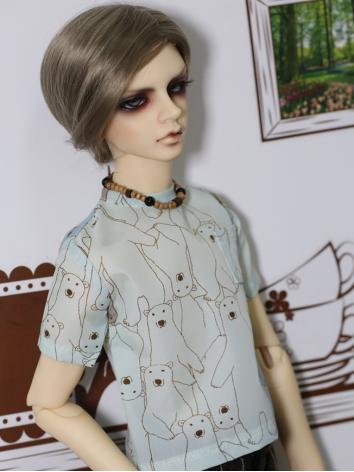 BJD Clothes Boy/Girl Blue B...